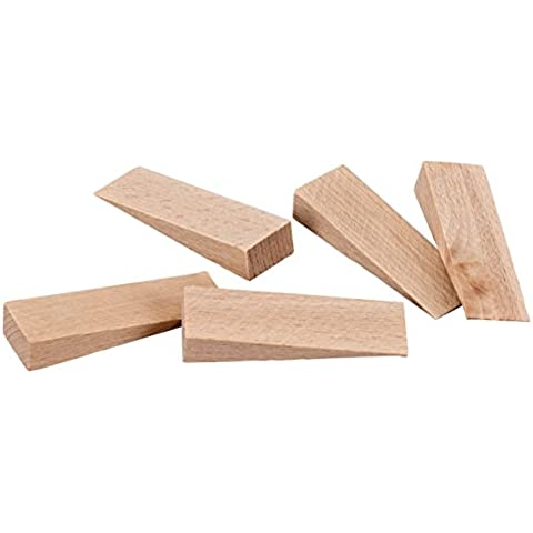 peha® Cunei in legno / zeppeper Piastrelle,faggio naturale, 80 x