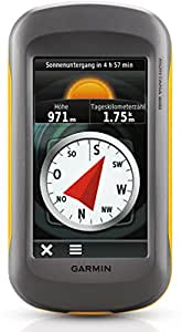 """Garmin Montana 600 GPS-Handgerät mit wasserdichtem 4"""" (10,2 cm) Touchscreen, Straßennavigation mit Sprachausgabe und ActiveRouting"""