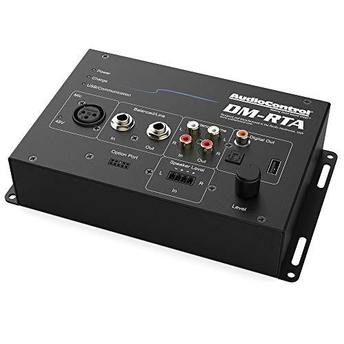 AudioControl DM-RTA Real Time Analyzer und Multi-Test Tool/Audiomessgerät, 5in1 Tool: Voltmeter, RTA, SPL-Meter, Polaritätsprüfer, Oszilloskop zum Testen und Messen von beliebigen Signalen