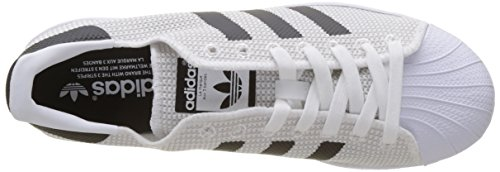 adidas Superstar, Chaussures de Course Homme Blanc (Footwear White/Footwear White/Core Black)