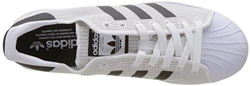 adidas Herren Superstar Fitnessschuhe Weiß (Footwear White/footwear White/core Black)
