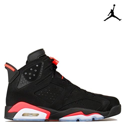 Foto de Nike Air Jordan 6 Retro, Zapatillas de Deporte para Hombre, Negro/Rojo (Black/Infrared 23-Black), 45 1/2 EU