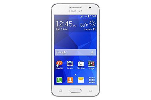 "Samsung Galaxy Core 2 - Smartphone libre Android (pantalla 4.5"", cámara 5 Mp, 4 GB, Quad-Core 1.2 GHz, 768 MB RAM), blanco"