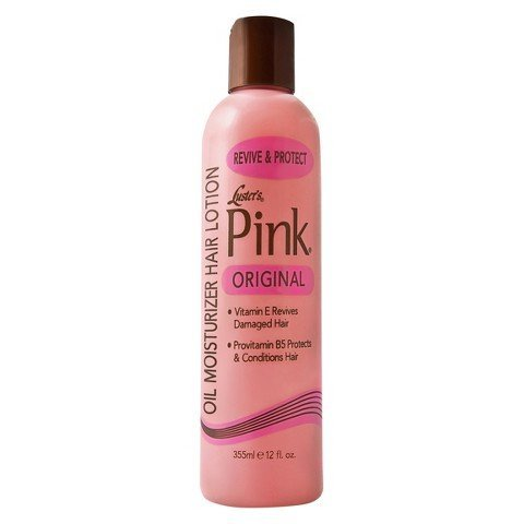 Luster's Pink Oil Moisturizer Hair Lotion, Original, 12 oz. by Luster Products Inc.