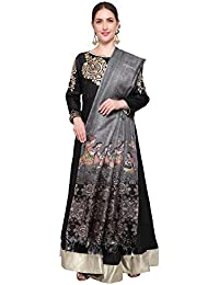 Applecreation Women's Khadi Silk Dupatta(dupattas for womens combo DGDPT07_Grey_Free Size)