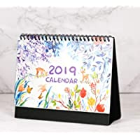 Novedad papeleria 2018 agosto-2019 diciembre mensual Escritorio Calendario Almohadilla Escritorio Oficina Tabla Calendario planificador Aleatorio Decoración de Escritorio