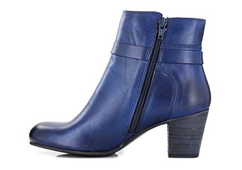 Kickers Seeboots, Bottes Classiques Femme Bleu f
