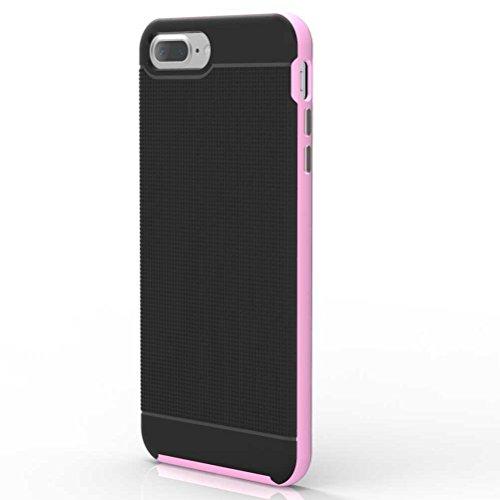 """iPhone 7 Plus Coque, AOFad Case Mince Protection des lourds 2-à-1 or TPU Avec 11 Colors Tréfilage Accessoires Série Pour Femme Homme 5.5"""" I699 AOFad B311"""