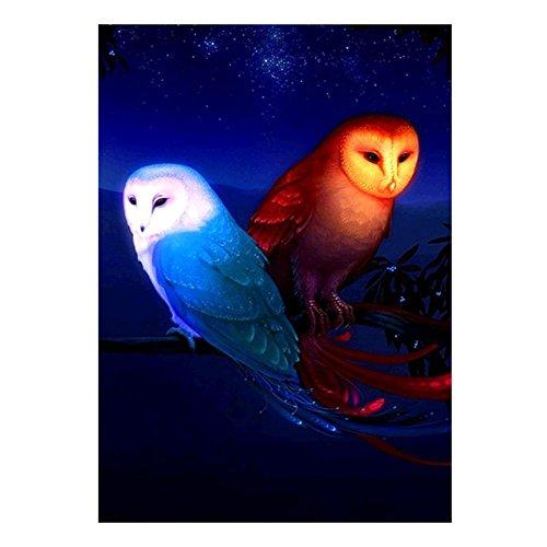 Diamond Painting,YOun 5D Eagle Style Rhinestone Embroidery Diamond Painting Cross Stitch Craft