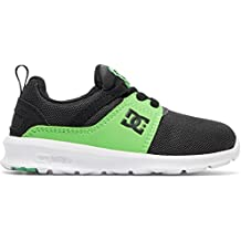 ZAPATILLAS NIÑO DC SHOES HEATHROW NEGRO/GRIS