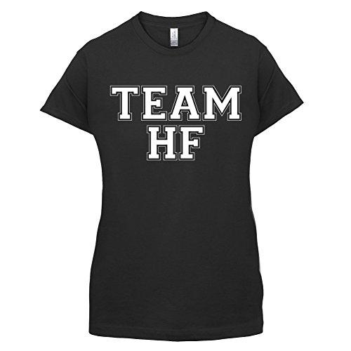 Team HF - Damen T-Shirt - 14 Farben Schwarz