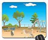 Gaming-Mauspads, Mauspad, Spielplatz Tiere Hundekatzenbaum Himmel Sun Nature