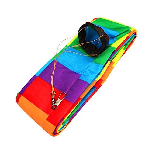 Gazechimp 15 M Regenbogen Einleiner Drachen Schwanz, Lang, schöner macht den Wind sichtbar! - # 2