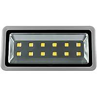 600W LED Flutlicht Hohe Energie 12Leds Sicherheit Scheinwerfer Superhelle 60.000LM für Garten Garage Auffahrt Landschaft Warmweiß Wasserdicht IP65 [Energieklasse A++]