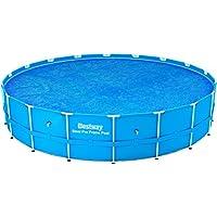 Cobertor solar 521 cm Bestway para piscinas tubulares de 549 cm
