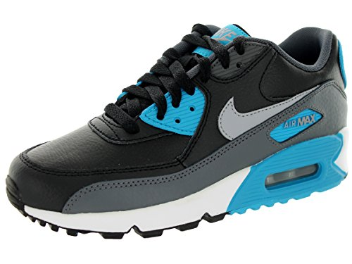 Nike - Air Max 90 (Gs), Sneaker Bambino Black Grey