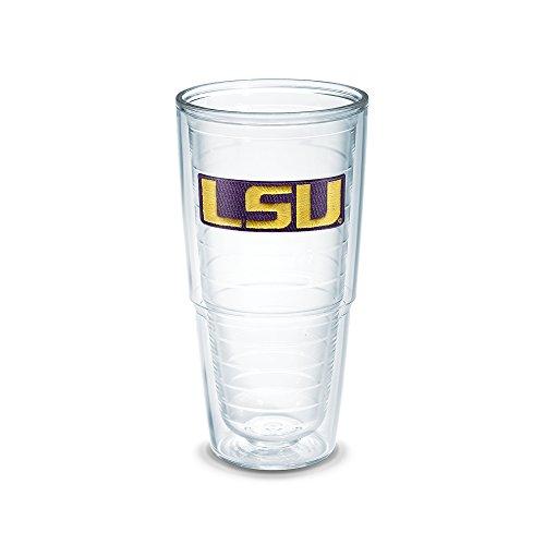 Tervis Trinkglas, 625 ml, transparent Louisiana State Univ 24 oz farblos (Louisiana Tumbler)