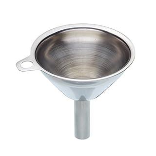 KitchenCraft Stainless Steel Mini Kitchen / Hip Flask Funnel, 5.5 cm (2
