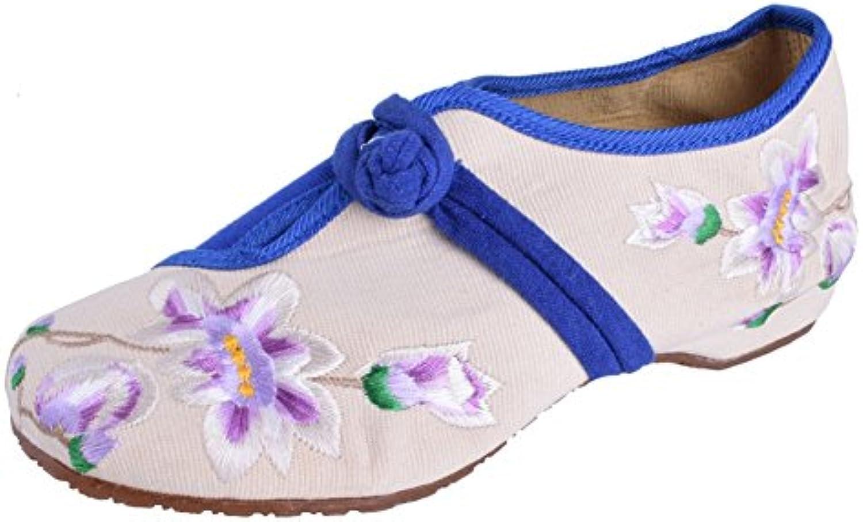 Lazutom - Bailarinas de Lona para mujer azul azul