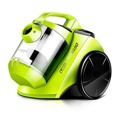 Rz nuovo elettrodomestico compatto, leggero e compatto, silenzioso con cavo aspirapolvere per pavimenti e moquette, verde, standard