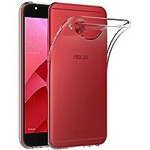 "Funda Asus Zenfone 4 Selfie Pro ZD552KL, AICEK Transparente Silicona Fundas para Asus Zenfone 4 Selfie Pro ZD552KL Carcasa Silicona Funda Case (5,5"")"