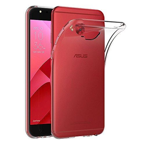 AICEK Asus Zenfone 4 Selfie Pro ZD552KL Hülle, Transparent Silikon Schutzhülle für Asus Selfie Pro ZD552KL Case Clear Durchsichtige TPU Bumper Zenfone 4 Selfie Pro ZD552KL Handyhülle (5,5 Zoll)