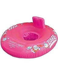 Zoggs Trainer - Flotador de natación, tamaño 3 - 12 meses, color rosa
