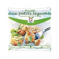 TOUPARGEL - Palets aux petits légumes - 525 g - Surgelé