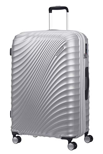 American Tourister Jetglam - Spinner Large Expandable Luggage, 77 cm, 109 L...