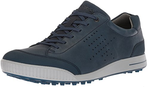 Ecco Herren Men\'s Golf Street Golfschuhe, Blau Denim Blue 50963, 46 EU