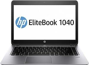 HP Ultrabook 1040 35,6 cm (14 Zoll) Notebook (Intel Core i5 4200M, 3,1GHz, 4GB RAM, 180GB SSD, Intel HD-Grafikkarte 4400, Win 8 Pro) grau