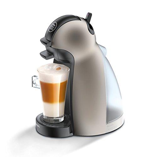 Krups KP 1009 Nescafé Dolce Gusto Piccolo Kaffeekapselmaschine (manuell) titanium
