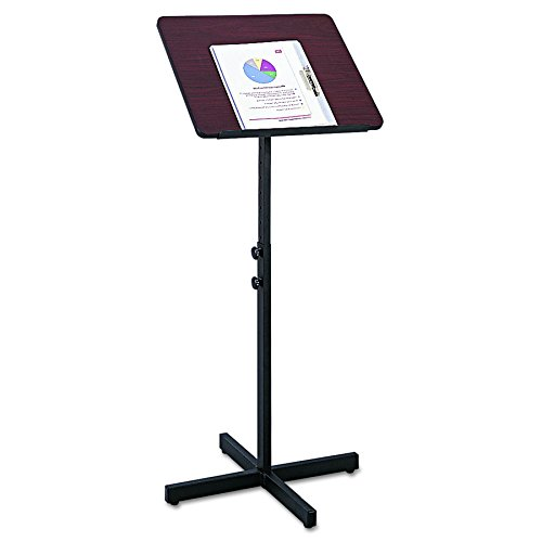 Safco Verstellbare Lautsprecher Ständer/Rednerpult