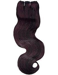 chear Courroie Body Wave Extensions capillaires Cheveux Humains avec extension de mélange tissage, Nombre P1B/...