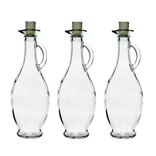 6 Leere Glasflaschen Glaskaraffen 250ml500ml Whlbar Karaffe Egizia Essigl Flaschen Mit Korken Karaffe Aus Glas Ausgiesser Likrflaschen Schnapsflaschen Essigflaschen Lflaschen Saftflaschen 02 5 L05l Li