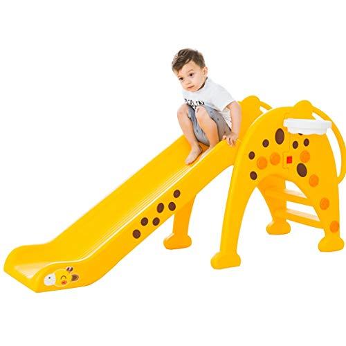 Kinderrutsche Indoor-Haushaltskombinationsspielzeug Kinder-Kletterspielzeug Vergnügungsparkanlage (Color : Yellow, Size : 168 * 47 * 80cm)