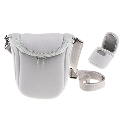 Segolike Waterproof Camera Storage Carry Bag Case with Adjustable Shoulder Strap for Sony LCS BBF NEXF3 NEX5R NEX5N H2 Grey  available at amazon for Rs.990