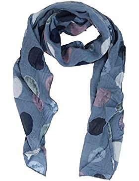 Seiden-Tuch für Damen mit Punkt-Print von Zwillingsherz / Elegantes Accessoire für Frauen auch als Schal / Seiden-Schal...