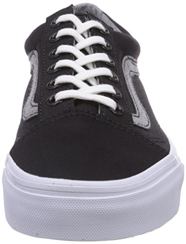 Vans U Old Skool, Baskets Basses Mixte Adulte Noir (Black)