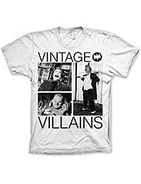 Officially Licensed Merchandise Batman Vintage Villains T-Shirt (White)