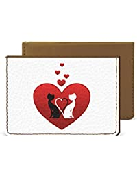 Cat In Love Credit Card Wallet By Robobull