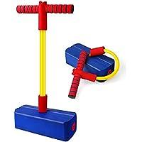 Babyhelen Pogo Stick Bastone da Salto Schiuma Pogo Jumper Giocattolo Educativo Gioco Sportivo Regalo Divertente per…
