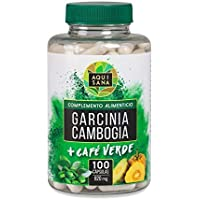Garcinia Cambogia con caffè verde - Prodotto Vegetales - 100 capsule