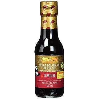 Lee Kum Kee Soja-Sauce hell (aus China, natürlich gebraut, ohne Geschmacksverstärker, würzig) 6er Pack (6 x 150ml)