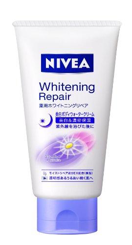 NIVEA BIHAKU Body Water Cream Whitening Repair 120g (japan import)