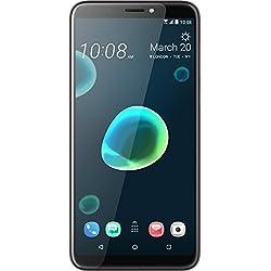 HTC Desire 12+ Smartphone Portable débloqué 4G (Ecran: 6 Pouces - 32 Go - Nano-SIM - Android) Argent