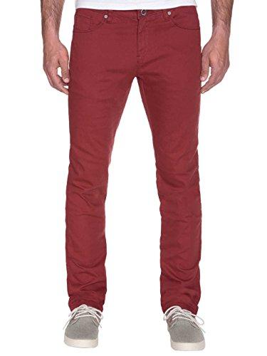 Volcom Herren Jeans Chili Chocker Crimson