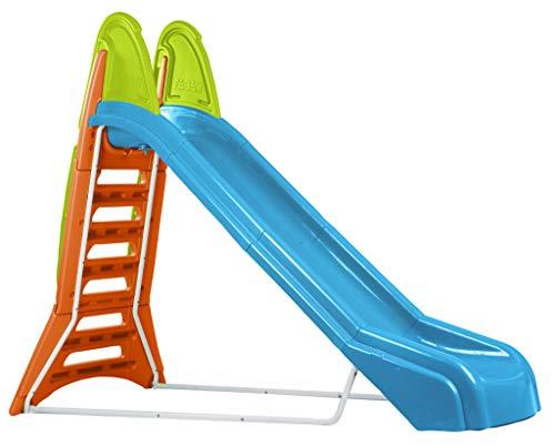 FEBER - Super toboggan à eau, pour enfants de 3 à 10 ans, Bleu (Famosa 800009709)