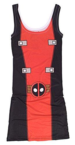 Marvel Deadpool Junioren Kostüm-Kleid | - Junioren Kostüm