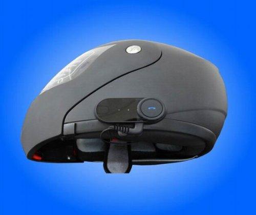 Sprechanlage/Bluetooth-Headset für Motorrad-Navigationsgeräte und MP3, bis 1000 m